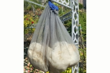 processing fiber, washing bag, mesh bag